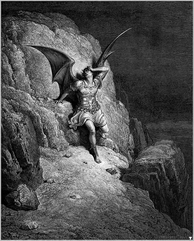 an analysis of satan as the main character in paradise lost an epic poem by john milton